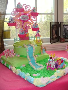 My Little Pony Birthday Cake Made By Momma For Our Ladys 3rd Party