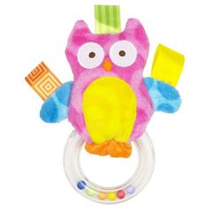 Taggies Colours Owl Ring - Assorted, Sold Individually Mary Meyer,http://www.amazon.com/dp/B007M47AB4/ref=cm_sw_r_pi_dp_Gxadtb0GHS911DZ6