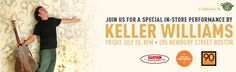 8p Friday July 20, Life is good & Keller Williams are teaming up with the folks at Island Creek Oysters, 90+ Cellars & Harpoon Brewery to bring you an unforgettable night of music, great food and drink. 100% of the funds raised will benefit The Life is good Playmakers. Details & tix http://bit.ly/MDyFJv #kellerwilliams #fundraiser #helpkids