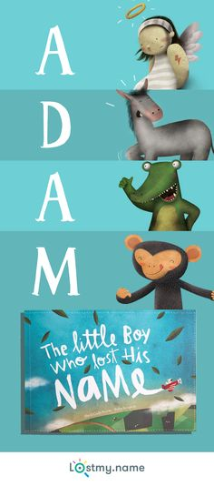 Dazzle a child with a personalized gift they'll remember forever. The story leads them on a magical journey, gathering the letters of their name from rockstar angels, agreeable alligators, moody monkeys, and other colourful characters. Create their book today and send it anywhere in the world for free.