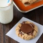 The Novice Chef » Reese's Peanut Butter Cup Cookies