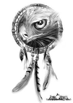 Sensacional atrapasueños con un águila en su interior. #santcugat #deysitattoostudio #deysitattoo #design www.deysitattoo.com citasdeysitattoo@gmail.com tlf: 639 327 919 #ideatattoo #ideastatuajes #tattoo #aguila #atrapasueños @deysitattoo
