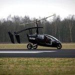 Voici Pal-V, une voiture hybride permettant de voler.
