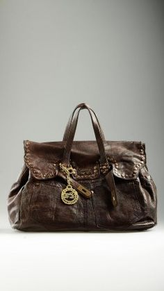 Colleen Heritage brown leather bag
