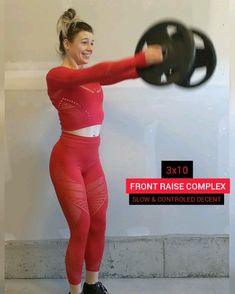 Check out this Simple and Fun Shoulder Workout for women only using plates. Tone your Arms & Shoulders with these exercises you cab do at home! Tone Arms Fast, Toned Arms, Shoulder Workout Women, Shoulder Workout At Home, Arm Workout Women With Weights, Get Ripped Fast, Get Toned, Workout Videos, At Home Workouts