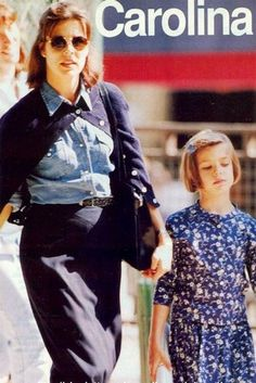 Charlotte Casiraghi with Princess Caroline Charlotte Casiraghi, Grace Kelly, Ernst August, Princesa Carolina, She Walks In Beauty, Monaco Royal Family, Glamour, Best Mother, Royal House
