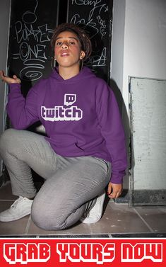 👉 Designed for TwitchAddict's 💜 ▪ Soft Cotton ▪ Printed in the USA ▪ Tracking Numbers Included Twitch Hoodie, Sporty Look, Hoodies, Sweatshirts, Types Of Sleeves, Overlay, Numbers, Graphic Sweatshirt, Unisex