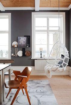 Design Crush: The Rattan Hanging Chair