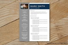 Resume Template - MS Word. Resume Templates
