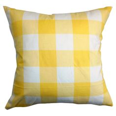 Buttercup Pillow » So sunny and bright, I love it!