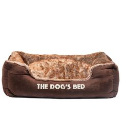 [Canony Bed DIY Ideas] The Dog's Bed, Premium Plush Soft Dog Beds in Grey & Brown S/M/L/XL, Fully Washable, Hyper-Allergenic, & Extremely Soft & Comfortable – The Ultimate in Pet Bed Luxury:) *** You can find out more details at the link of the image. Dog Pillow Bed, Bed Pillows, Canopy Beds For Sale, Xxl Dog Beds, Cheap Dog Beds, Diy Bed, Brown And Grey, Best Dogs, Memory Foam