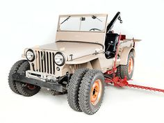 Historic Jeeps Roll Into Las Vegas for SEMA http://www.thedrive.com/article/686?sr_source=lift_outbrain