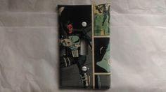 The Punisher Light Switch Cover, Comic Books, Marvel Comics, Handmade by ComicBookCreations01 on Etsy