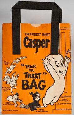 Casper Halloween treat bag