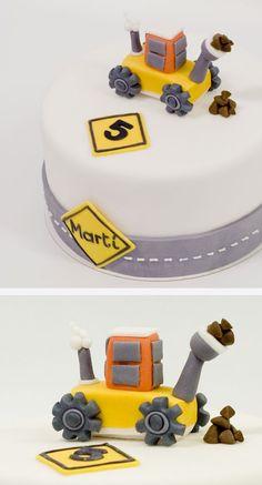 Under Construction Cake Pastel en Construcción: