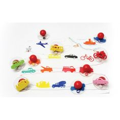 Ready2Learn™ Giant Stampers, Transportation Set 1, CE-6737