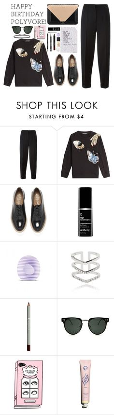 """""""Celebrate Our 10th Polyversary!"""" by faye-valentine on Polyvore featuring Alexander McQueen, Chanel, Jeffrey Campbell, Eos, Astrid & Miyu, Spitfire, Lano, Ileana Makri, polyversary and contestentry"""