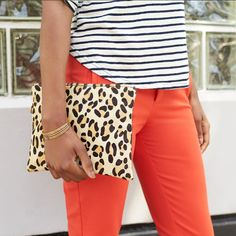 What's your power look? Whether you wear fiery red or fierce leopard print, step out today like .