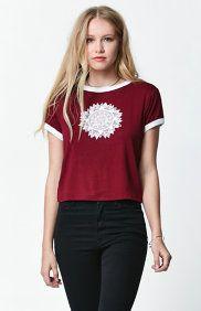 Crystal Mandala Skimmer Ringer T-Shirt