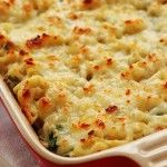 Healthy Spinach Dip Mac and Cheese
