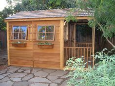 Shed Made From Pallets   Backyard clubhouse made of wood pallets]    [make a clubhouse ...