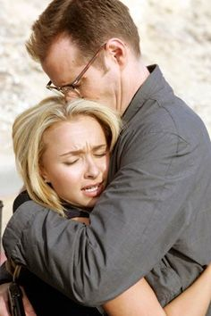 Heroes: Hayden Panettiere as Claire Bennet, Jack Coleman as Noah Bennet Jack Coleman, Hero Tv Show, Heroes Reborn, Mental Issues, Sci Fi Series, Hayden Panettiere, Daddy Daughter, Great Tv Shows, Netflix Series