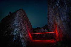 Mysterious Red Lights Installations in Spain – Fubiz Media