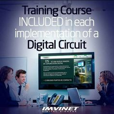 At Imvinet we offer you a complete Digital Signage service so we give you the necessary training regarding the software and its benefits so that you can get the maximum potential to the Digital Circuit.  We know how to make a Digital Signage circuit successful if you want to know more contact us via e-mail at info@imvinet.com or visit our website www.imvinet.com #digitalboards  #digital  #digitalsignage  #menuboards  #informations  #tecnology  #ds  #dooh  #comunication  #digitalsignage…