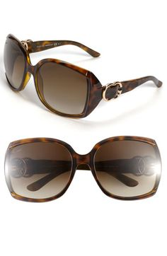 46d5ee7ceac Gucci Oversized Sunglasses available at  Nordstrom Gucci Sunglasses