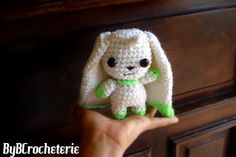 Hey, I found this really awesome Etsy listing at https://www.etsy.com/listing/197133661/terriermon-amigurumi-digimon-adventure