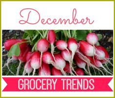 Vegetables & Fruits in Season: December Grocery Store Trends