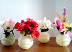 12 IVORY WHITE Paper Chinese Lanterns centerpieces Wedding Party ...