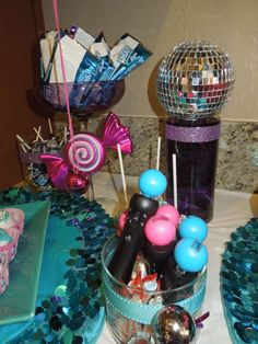 Dance / Rockstar Party Birthday Party Ideas | Photo 1 of 13 | Catch My Party