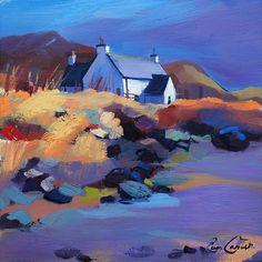 Rocky Shore & Cottage - Pam Carter