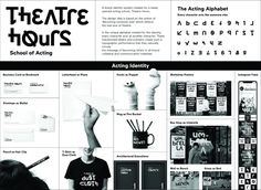 Ad created by TBWA\Istanbul, Turkey for Theatre Hours Advertising Awards, Perfect Resume, Liking Someone, Copywriting, Letters And Numbers, Brand Identity, Theatre, Acting, Campaign
