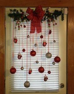 porte de Noël incroyable,
