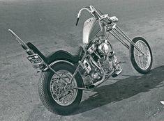 Jeff McCann chopper with 20-over girder forks, ca. 1971.