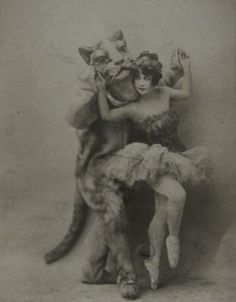 1910s, antiwue, ballet, catpeople