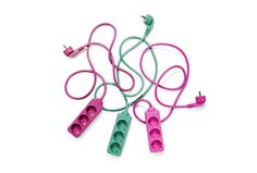 Ethically made extension cords to bring color to your life.