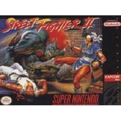 Street Fighter II for SNES