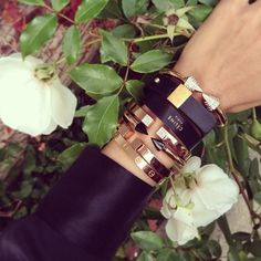 .Classy arm party