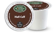 Green Mountain Coffee Medium Roast K-cup for Keurig Brewers, Half-caff Coffee, 192-count *** For more information, visit now : K Cups