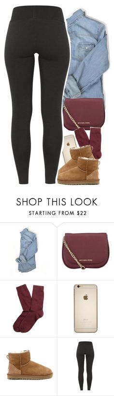 """hello - adele is "" by daisym0nste ❤ liked on Polyvore featuring MICHAEL Michael Kors, Brooks Brothers and UGG Australia"