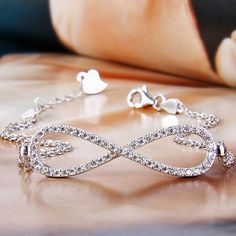 Find great deals on Allison Breeze for Infinity #Bracelet in Fashion #Jewelry #Bracelets.Free Shipping & Returns.
