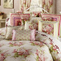 Better homes and gardens Shona comforter set #purpleandtan ...