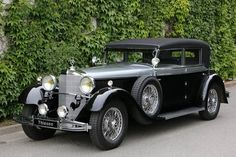"""Mercedes 770 K Cabriolet D """" (1931) Maintenance/restoration of old/vintage vehicles: the material for new cogs/casters/gears/pads could be cast polyamide which I (Cast polyamide) can produce. My contact: tatjana.alic@windowslive.com"""