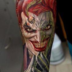 Classic Joker tattoo Amazing Tattoo Art | tattoos picture joker tattoo
