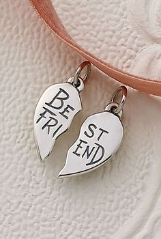 """Best Friend"" Charm Set #JamesAvery"