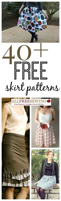 If you want to learn how to sew a skirt, you've found the right collection! With 46 Free Skirt Patterns to choose from, you're bound to find something you love.