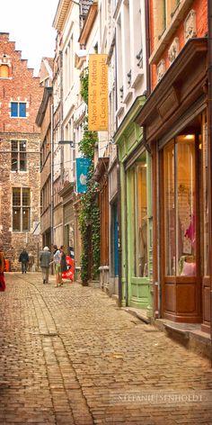 Gent - het Serpentenstraatje